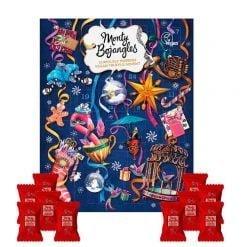 Julekalender med chokoladetrøfler (VEGANSK), Monty Bojangles