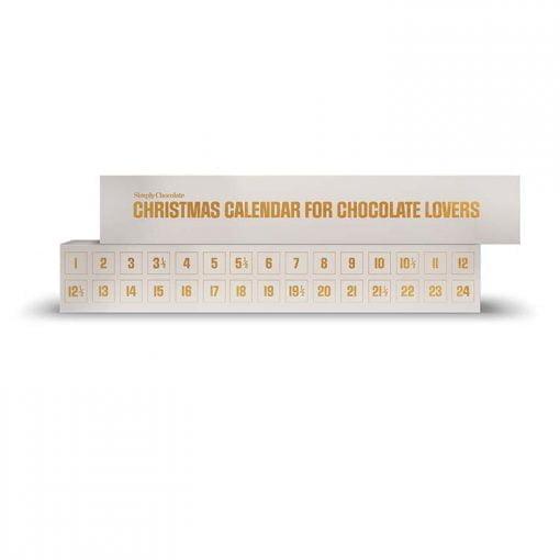 Simply Chocolate - Julekalender (Single/White)